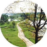 Picturesque view to Aukštadvaris environs