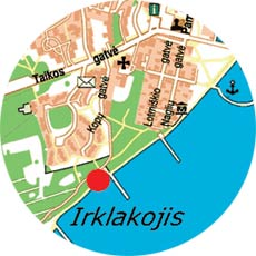 Our location near the Curonian lagoon